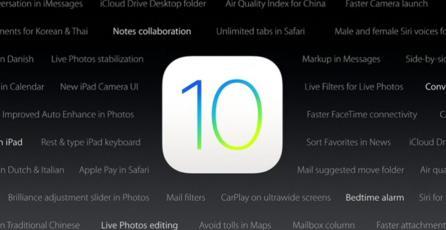 iOS 10 ya comienza a llegar a los dispositivos compatibles
