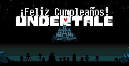 ¡Feliz cumpleaños, Undertale!