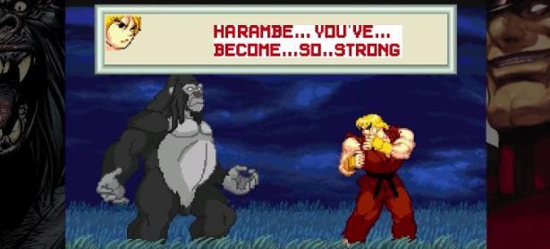 Conoce a Harambe vs Capcom: El título que rinde tributo al gorila más famoso de internet