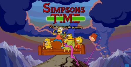 Los Simpson le rinden tributo a Hora de Aventura