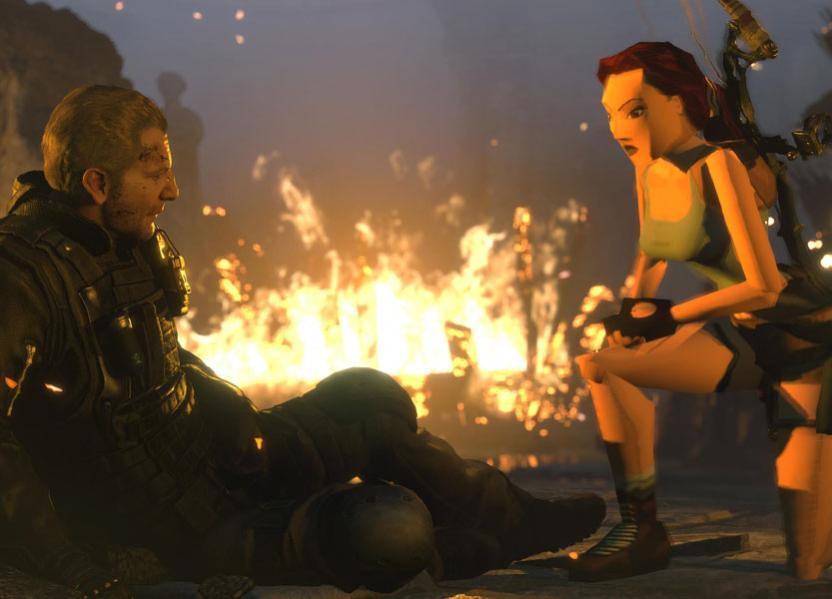 La combinación de lo viejo con lo nuevo celebra los 20 años de Rise of The Tomb Raider