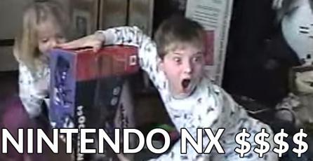 Revelan supuesto valor y fecha de lanzamiento de la Nintendo NX