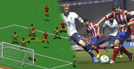 La evolución de <em>FIFA</em> relatada en un video