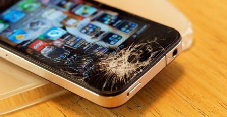 Hombre destroza tienda de Apple con una bola metálica