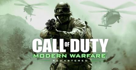Juega ahora <em>Call of Duty 4</em> remasterizado en PS4