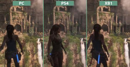 Comparativa gráfica de <em>Rise of the Tomb Raider</em> en PS4 / PC y Xbox One
