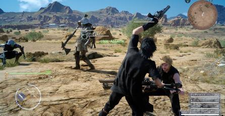 Muestran nuevas capturas de <em>Final Fantasy XV</em>