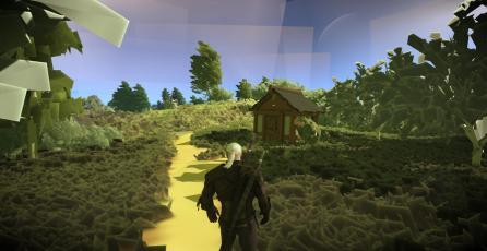 Jugador de <em>The Witcher 3</em> hace que juego se vea en baja resolución