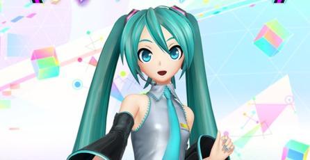 PS VR no quiere que veas debajo de la falda de Hatsune Miku