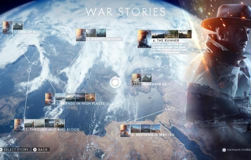 Las historias de guerra duran un poco más de 1 hora