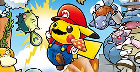 Conoce la mercancía del crossover de Mario y Pikachu