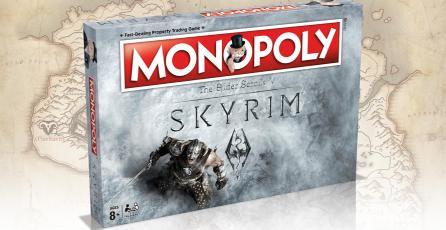 Anuncian Monopoly oficial de Skyrim