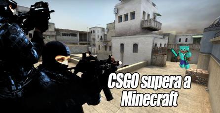 Counter-Strike: Global Offensive supera a Minecraft como el juego más vendido de PC