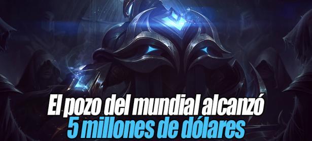 #Worlds2016: El premio de League of Legends llegó a 5 millones de dólares