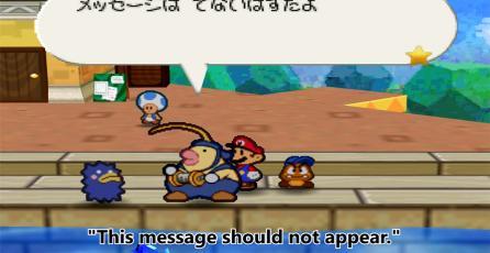 Encuentran diálogo escondido en <em>Paper Mario</em> después de 16 años