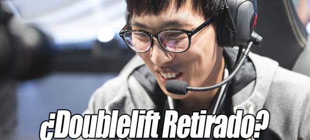League of Legends: Doublelift se tomará un break del juego profesional
