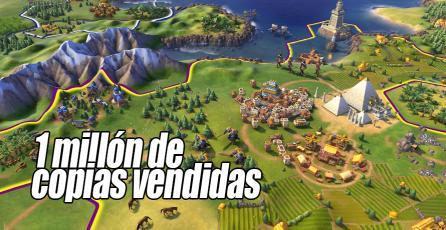 Civilization VI ya vendió más de un millón de copias en Steam