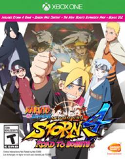 Naruto Shippuden Ultimate Ninja Storm 4 Road to Boruto