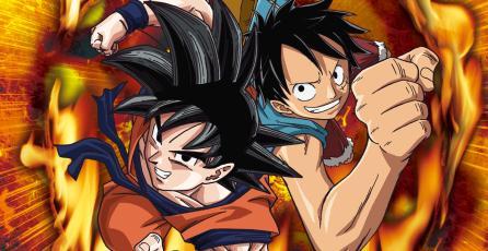Mira a Gokú pelear contra Luffy en <em>One Piece: Great Pirate Colosseum</em>