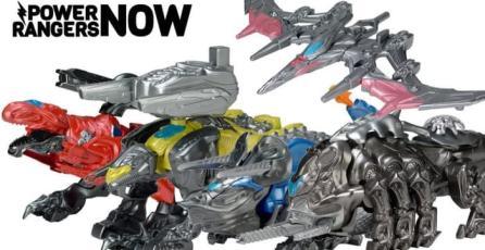 Revelan a los Zords de la película de <em>Power Rangers</em> mediante juguetes