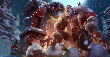 PBE: ¡Llegó la navidad a League of Legends!