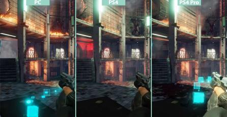 Comparativa gráfica de <em>Killing Floor 2</em> en PC y PS4 / PS4 Pro