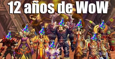 Feliz 12° aniversario <em>World of Warcraft</em>