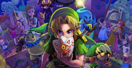 <em>The Legend of Zelda: Majora's Mask</em> llegará a la Consola Virtual de Wii U