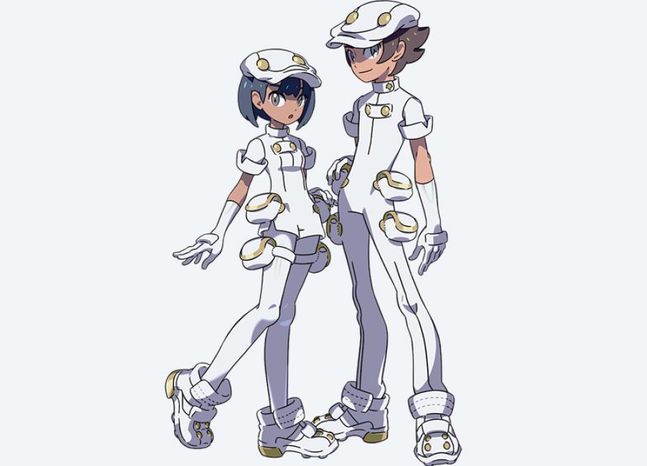 Pokémon Sun & Moon - Personajes
