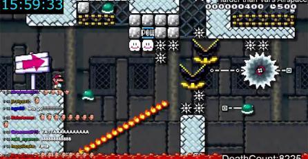 Jugador demora casi 60 horas en completar un nivel de <em>Super Mario Maker</em>