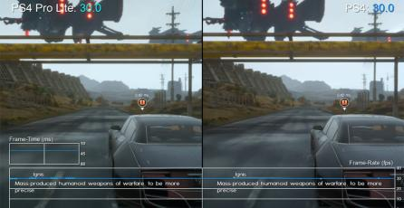 Comparativa de <em>Final Fantasy XV</em> en PS4 y PS4 Pro