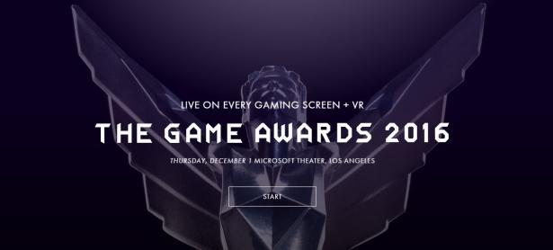 The Game Awards 2016 comienza su stream a las 10:30 PM