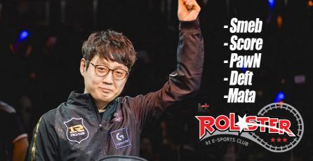 League of Legends: Mata es la última pieza del súper equipo coreano KT Rolster
