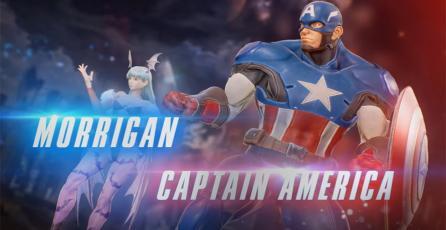 Revelados Morrigan y Capitán América en <em>Marvel Vs Capcom: Infinite</em>