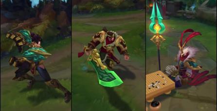 League of Legends: Nuevos aspectos del Deleite Lunar para Vi, Garen y Azir