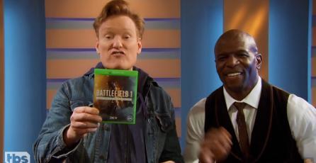 """Conan O'Brien juega Battlefield 1 en su nuevo episodio de """"Clueless Gamer"""""""