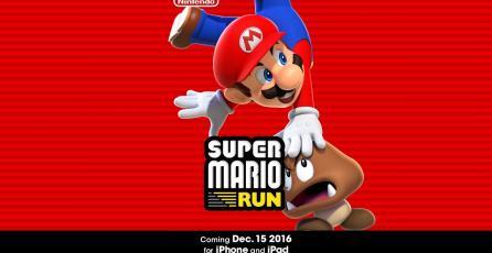 En su primer día <em>Super Mario Run</em> es número uno en descargas de Chile