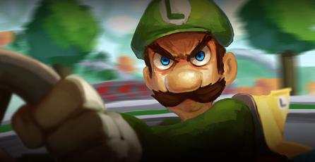 """La """"mirada de la muerte"""" de Luigi relatada en un cortometraje cómico"""
