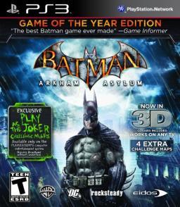 Batman: Arkham Asylum (Game of the Year Edition)