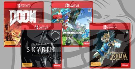 Estaba aburrido y hackeó tienda para subir juegos falsos de Nintendo Switch
