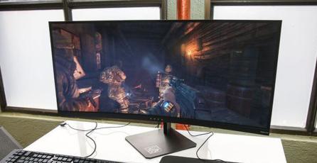 "HP presenta gigantesco monitor curvo de 35"""