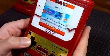 Transforman un Famicom Classic Mini en una portátil
