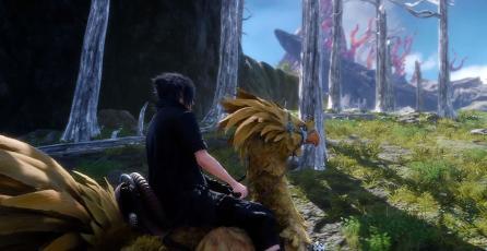 Usuarios exploran nuevas áreas en <em>Final Fantasy XV</em>
