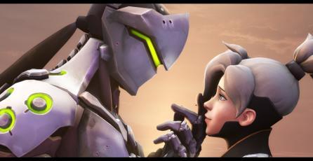 <em>Overwatch:</em> Descubren diálogo romántico entre Genji y Mercy en parche PTR