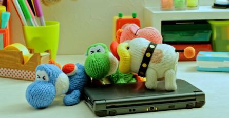 Llena tu día de ternura con el corto de <em>Poochy & Yoshi's Woolly World</em>