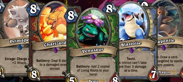 Recrean los 151 Pokémon como cartas de <em>Hearthstone</em>