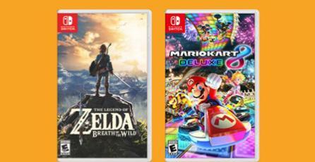 Así son las cajas de los juegos para Nintendo Switch