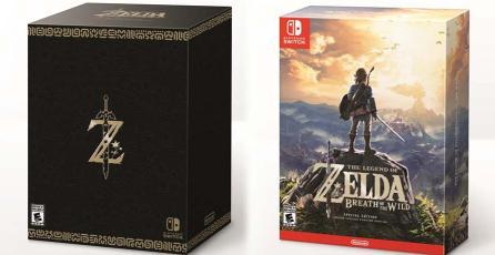 Muérete de envidia con estas ediciones especiales de <em>Zelda: Breath of the Wild</em>