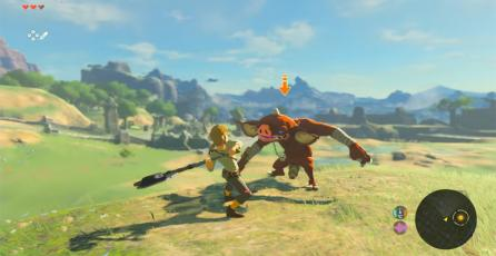 <em>Zelda: Breath of the Wild</em> corre a 900p 30fps en modo Dock