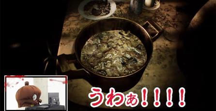 Esquizofrénica mascota japonesa juega <em>Resident Evil 7</em>